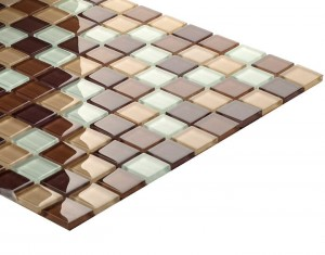 CRYSTAL MOSAIK BROWN MIX