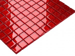 CRYSTAL MOSAIK RED GLITTER