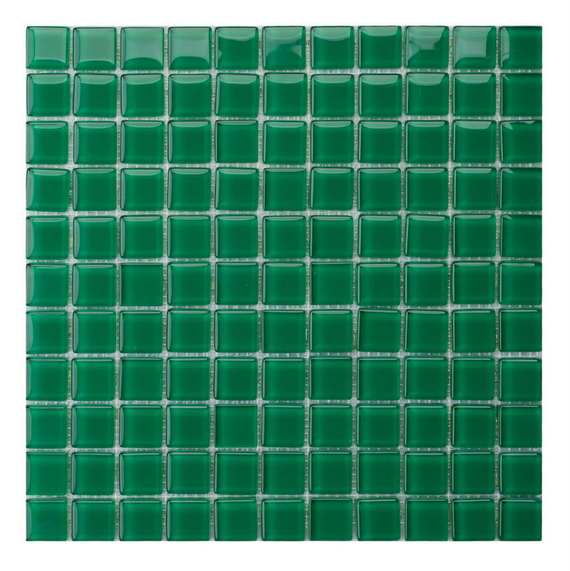 Mozaika Szklana Zielona
