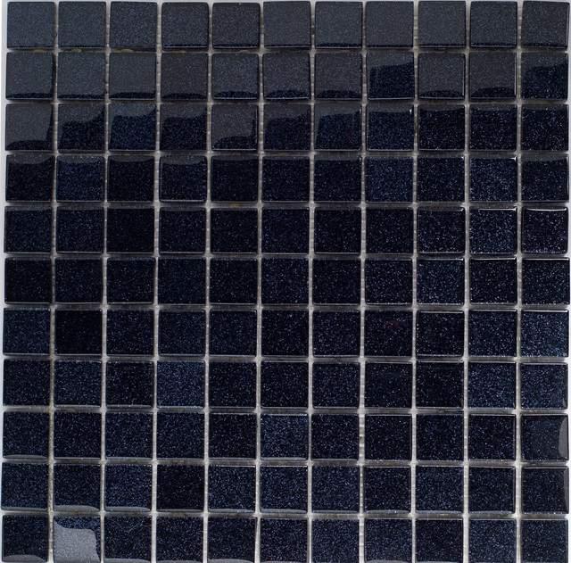 luxus klarglas mosaikfliesen schwarz hochglanz glitzer glitter silver graphit ebay. Black Bedroom Furniture Sets. Home Design Ideas