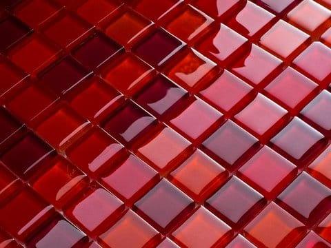 Mozaika szklana mix czerwony 2 mozaika szklana sklep - Fliesen weinrot ...